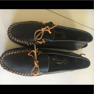 Men's Quoddy Leather Moccasins - Size 11
